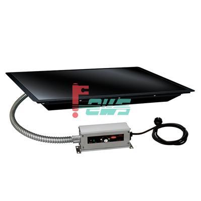 嵌入式保温玻璃板(黑色边框)