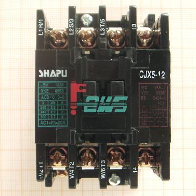 交流接触器 cjx5-12