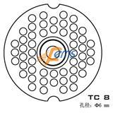 SIRMAN TC 8 TC 8 孔径6毫米不锈钢刀盘(双槽)
